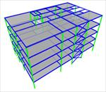پروژه-فولادی-تحلیل-و-طراحی-ساختمان-چهار-طبقه-با-نرم-افزار-etabs-و-safe