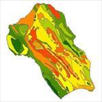 نقشه-ی-زمین-شناسی-شهرستان-کازرون