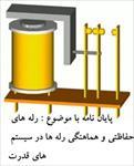 تحقیق-رله-های-حفاظتی-و-هماهنگی-رله-ها-در-سیستم-های-قدرت