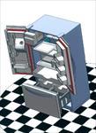 پروژه-با-موضوع-طراحی-یخچال-به-همراه-اسمبل-کامل-پارت-ها-و-قیدبندی