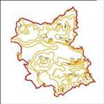 نقشه-ی-منحنی-های-هم-تبخیر-استان-آذربایجان-شرقی