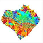 نقشه-ی-رستری-جهت-شیب-شهرستان-لنجان-(واقع-در-استان-اصفهان)
