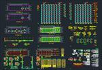 نقشه-های-اتوکد-پارکینگ-طبقاتی