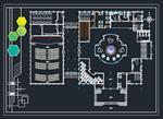 نقشه-اتوکد-مدرسه-سه-طبقه