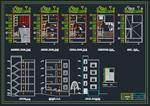 نقشه-اتوکد-ساختمان-مسکونی-4-طبقه
