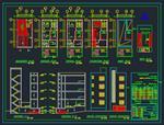 نقشه-اتوکد-ساختمان-مسکونی-3-طبقه