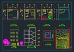 نقشه-های-اتوکد-ساختمان-مسکونی-3-طبقه
