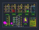 نقشه-های-کامل-اتوکد-ساختمان-مسکونی-3-طبقه
