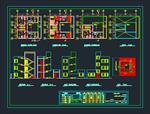 نقشه-های-اتوکد-ساختمان-مسکونی-2-طبقه