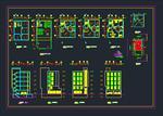 نقشه-های-اتوکد-ساختمان-مسکونی-4-طبقه