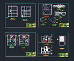 نقشه-های-اتوکد-ساختمان-دو-طبقه