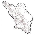 نقشه-ی-خطوط-همدمای-استان-چهارمحال-و-بختیاری