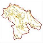 نقشه-ی-منحنی-های-هم-تبخیر-استان-کهگیلویه-و-بویراحمد