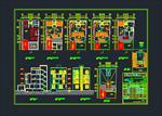 نقشه-های-اتوکد-ساختمان-مسکونی-5-طبقه