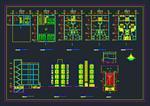 نقشه-های-اتوکد-ساختمان-مسکونی-5-طبقه-8-واحدی