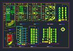 نقشه-های-اتوکد-ساختمان-مسکونی-7-طبقه