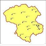 شیپ-فایل-شهرهای-استان-زنجان-به-صورت-نقطه-ای