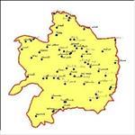 شیپ-فایل-شهرهای-استان-خراسان-رضوی-به-صورت-نقطه-ای