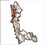 نقشه-ی-خطوط-همدمای-استان-آذربایجان-غربی