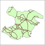 شیپ-فایل-جاده-های-ارتباطی-استان-قزوین