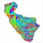 نقشه-ی-رستری-جهت-شیب-شهرستان-فسا-(واقع-در-استان-فارس)