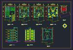 10-نمونه-نقشه-اتوکد-معماری-ساختمان-های-مسکونی-طبقاتی-سری-اول