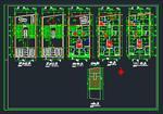 10-نمونه-نقشه-اتوکد-معماری-ساختمان-های-مسکونی-طبقاتی-سری-دوم