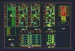 50-نمونه-نقشه-اتوکد-معماری-ساختمان-های-مسکونی-طبقاتی