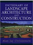 کتاب-dictionary-of-landscape-architecture-and-construction