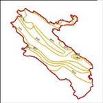 نقشه-ی-منحنی-های-هم-تبخیر-استان-ایلام