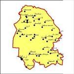 شیپ-فایل-شهرهای-استان-خوزستان-به-صورت-نقطه-ای