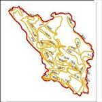 نقشه-ی-منحنی-های-هم-تبخیر-استان-چهارمحال-و-بختیاری