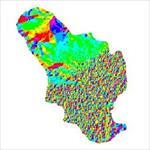 نقشه-ی-رستری-جهت-شیب-شهرستان-خمینی-شهر-(واقع-در-استان-اصفهان)