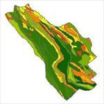 نقشه-ی-زمین-شناسی-شهرستان-کوهرنگ