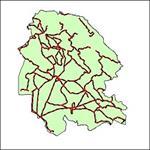 شیپ-فایل-جاده-های-ارتباطی-استان-خوزستان