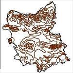 نقشه-ی-خطوط-همدمای-استان-آذربایجان-شرقی