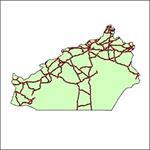 شیپ-فایل-جاده-های-ارتباطی-استان-سمنان