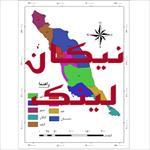 نقشه-شهرستان-های-استان-بوشهر