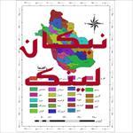 نقشه-شهرستان-های-استان-فارس
