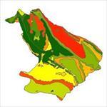 نقشه-زمین-شناسی-شهرستان-مهران
