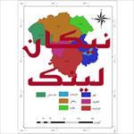 نقشه-شهرستان-های-استان-زنجان