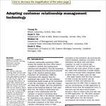 مقاله-ترجمه-شده-با-عنوان-سازگار-کردن-تکنولوژی-مدیریت-ارتباط-با-مشتری-به-همراه-اصل-مقاله