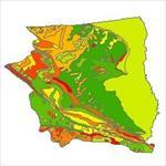 نقشه-زمین-شناسی-شهرستان-سرخس