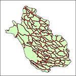 شیپ-فایل-جاده-های-ارتباطی-استان-فارس
