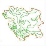 شیپ-فایل-خطوط-همبارش-استان-کردستان