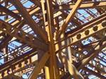 پاورپوینت-تشریح-مراحل-اجرای-سازه-های-اسکلت-فلزی