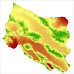 نقشه-مدل-رقومی-ارتفاعی-(dem)-شهرستان-اقلید-(واقع-در-استان-فارس)