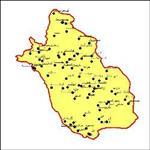 شیپ-فایل-شهرهای-استان-فارس-به-صورت-نقطه-ای