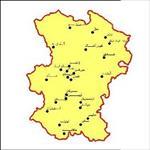 شیپ-فایل-شهرهای-استان-همدان-به-صورت-نقطه-ای