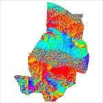 نقشه-ی-رستری-جهت-شیب-شهرستان-اردستان-(واقع-در-استان-اصفهان)